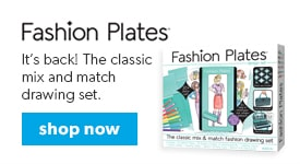 shop fashion plates, the classic mix and match drawing set.