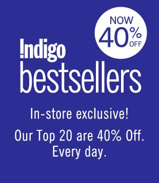 Indigo Bestsellers - in-store exclusive!