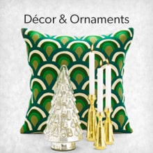 shop Holiday Décor & Ornaments