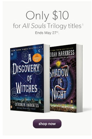 Only $10 for All Souls Trilogy titles(1)