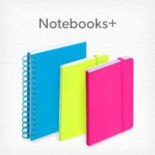 notebooks plus