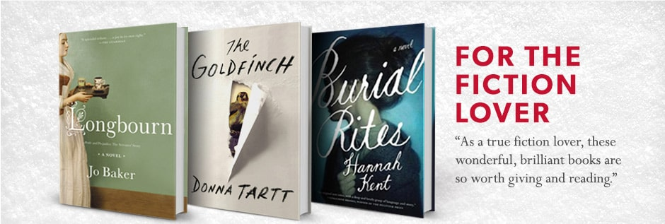 """As a true fiction lover, these wonderful, brilliant books are so worth giving and reading"""