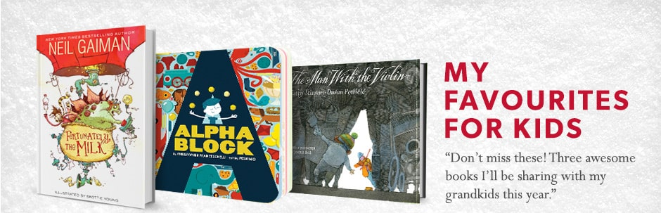 """Don't miss these! Three awesome books I'll be sharing with my grandkids this year"""