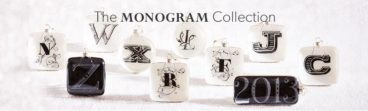 The Monogram Ornament Collection