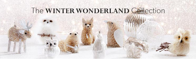 The Winter Wonderland Ornament Collection