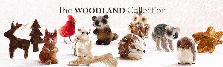 Ornaments: Woodland Animals