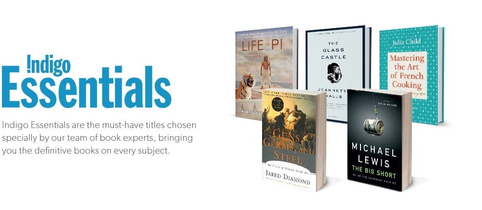 Indigo Essentials are the must-have titles chosen specially by our team of book experts, bring you the definitive books on every subject