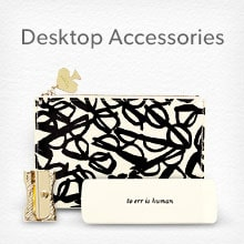shop kate spade desktop accessories