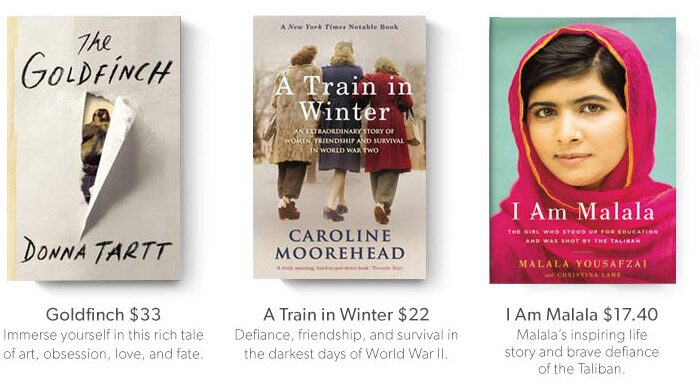 shop Heather's Holiday Book Picks