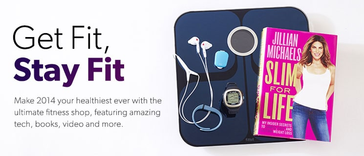 Get Fit, stay fit. Fitness for the 21st century. Stay in shape in 2014 with this amazing fitness tech and gear. Shop Now