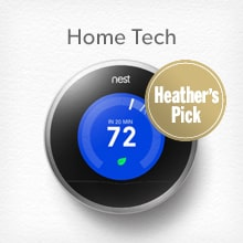 shop Home Tech including Nest, a Heather's Pick