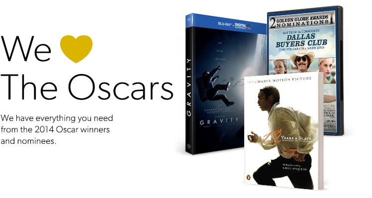 shop everything you need from the 2014 Oscar winners and nominees.