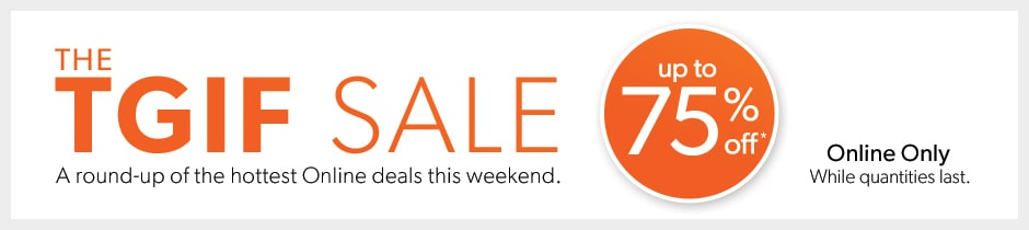 shop the hottest online deals this weekend.