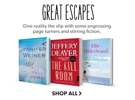 Shop Thrillers. Great Escapes - give reality the slip with pedal-to-the-metal thrillers.