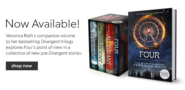 Find Veronica Roth's books in one place!