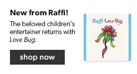 Shop the latest from the beloved children's entertainer, Raffi - Love Bug