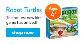 shop the hottest new kids' game - Robot Turtles