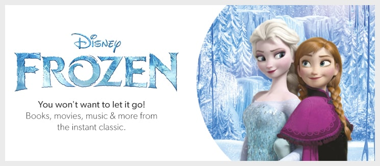 Shop Disney's Frozen - books, movies, music, and more from the instant classic.