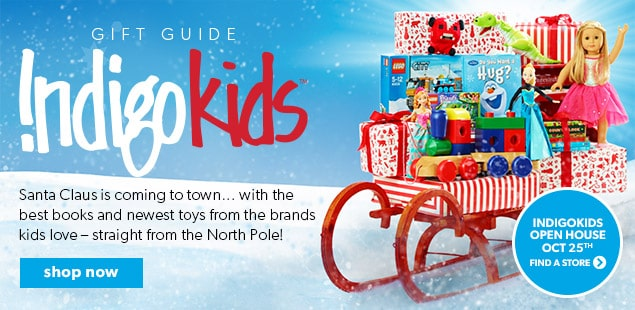 Santa Claus is coming to town with the best books and newest toys straight from the North Pole!