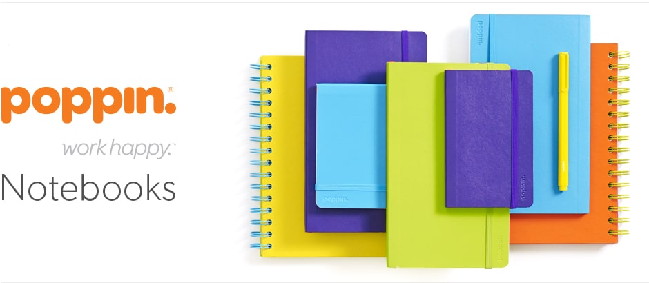 Exclusive Canadian retailer of poppin. Notebooks