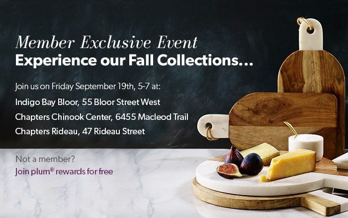 Join us on Friday, September 19th, 5-7 PM to experience our fall collections. Not a member? Join for free.