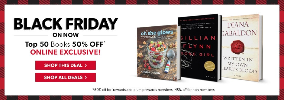Black Friday - Top 50 Books 50% Off