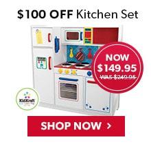 $100 Off Kitchen Set