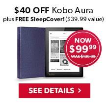 $40 Off Kobo Aura