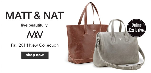 Matt and Nat New Fall Collection