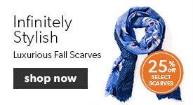 Fall Fashion Scarves