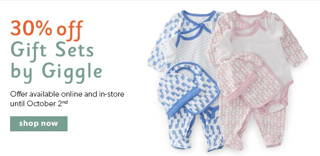 shop 30% off Giggle Baby Gifts