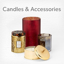 Shop candles and accessories