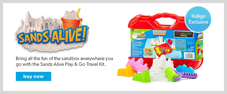 Sands Alive. An amazing and unique play material, perfect for indoor play.