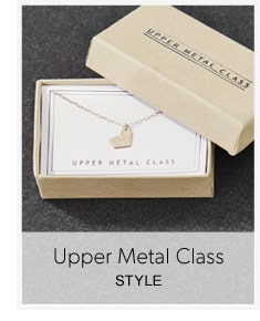 Etsy Upper Metal Class