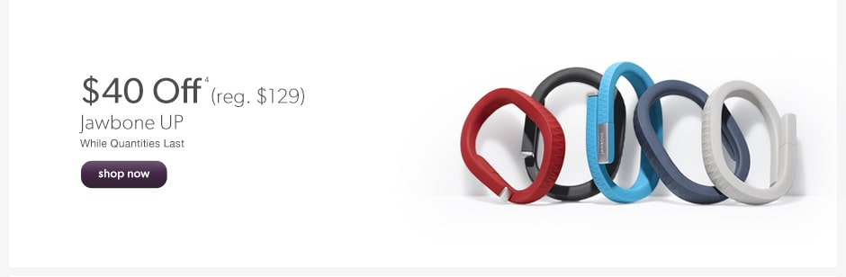 $40 Off Jawbone Up