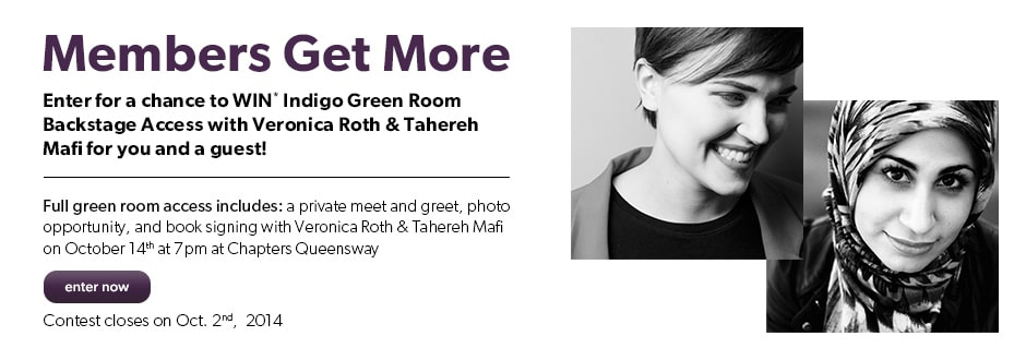 Enter to WIN a meet & greet with Veronica Roth and Tahereh Mafi