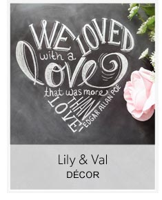 shop Lily and Val
