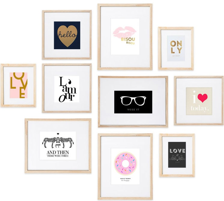 Framed SS Print Shop prints
