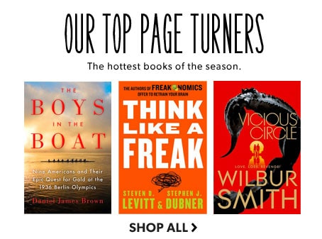 shop our top ten page turners