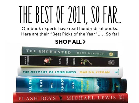 shop the best books of 2014, so far
