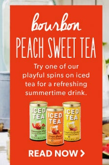 boubon peach sweet tea