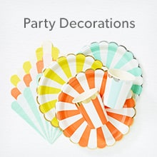 shop Party Decorations