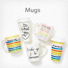 Shop mugs, coffee cups and travel mugs