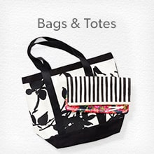 shop bags and totes