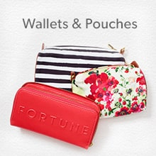 shop wallets and pouches