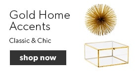Gold Home Accents