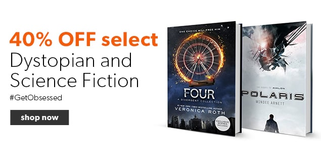 Save 40% off Dystopian and Science Fiction Books