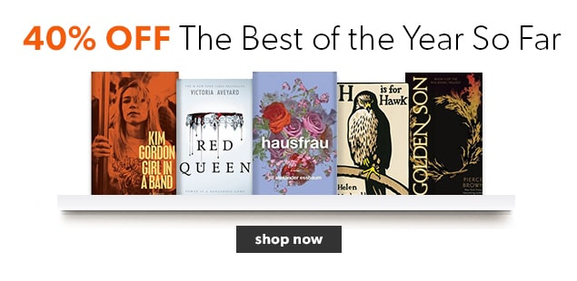 40% off the best books of 2015 so far.