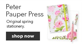 shop Spring Stationery by Peter Pauper Press