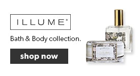 Shop our collections of Illume bath and body care. Free shipping on orders over $25.